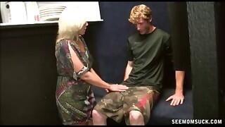 Mrs. Rileys Payback      - Mrs. Rileys Payback    Blowjob Videos @ See Mom Suck